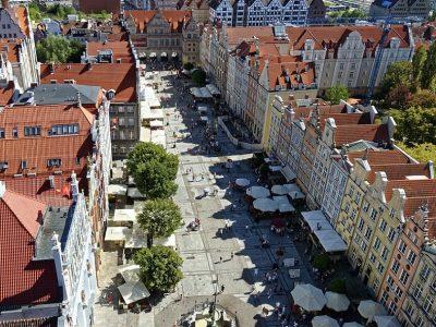 Польша, Гданьск, Королевский тракт