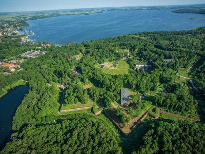 Польша, Гижицко, вид сверху на крепость Бойен