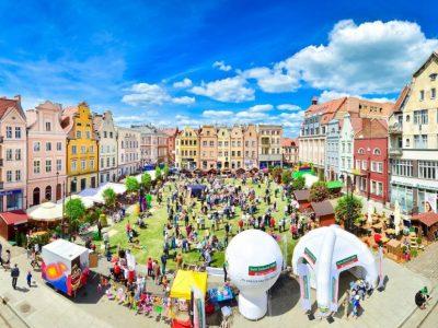 Польша, Грудзендз, рыночная площадь