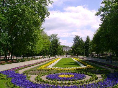 Польша, Иновроцлав, парк Солянки