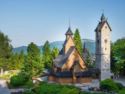Польша, Карпач, церковь Ванг