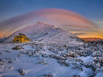 Польша, Карпач, гора Снежка
