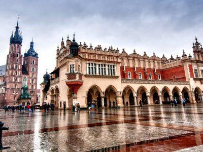 Польша, Краков, Рыночная площадь