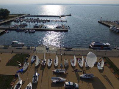 Польша, Крыница-Морска, яхтенный порт