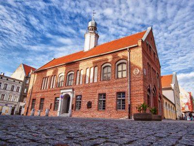 Польша, Ольштын, старая ратуша