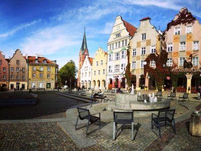 Польша, Ольштын, старый город