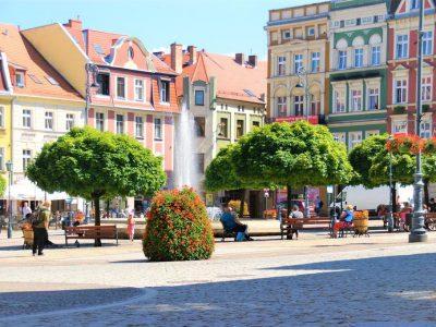 Польша, Валбжих, рыночная площадь