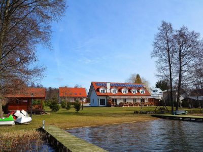 Польша, Вархалы, гостевой дом на берегу озера Свейтано