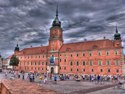 Польша, Варшава, Королевский замок