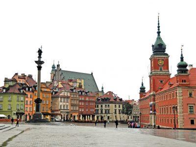 Польша, Варшава, Замковая площадь