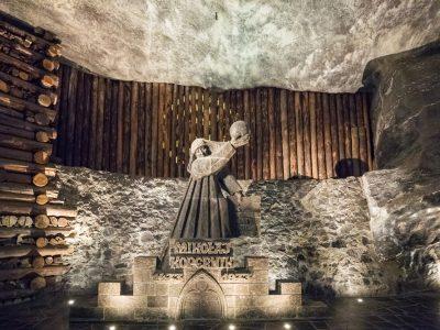 Польша, Величка, внутри соляной шахты