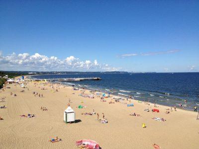 Польша, Владыславо, пляж