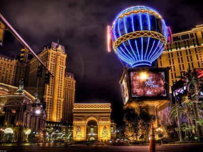 США, Лас-Вегас, ночные улицы