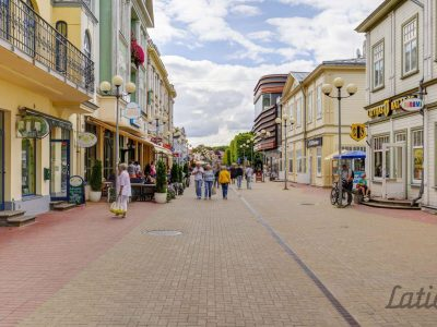 Улица Йомас, Юрмала, Латвия