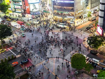Япония, Токио, центр