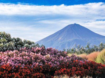 Япония, вулкан Фудзияма