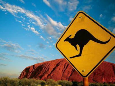 австралия кенгуру знак